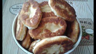 Жареные пирожки с картошкой видео рецепт
