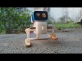 How to Make a Walking Robot at Home - Easy to Build