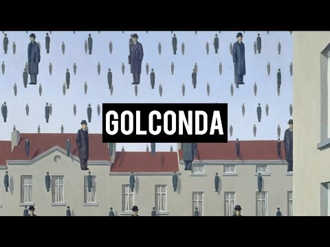 RENÉ MAGRITTE - GOLCONDA
