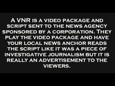 Fake News - Video News Release or VNR's
