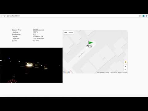 Kalman Filter Sensor Fusion for GPS and Accelerometer in car - YouTube