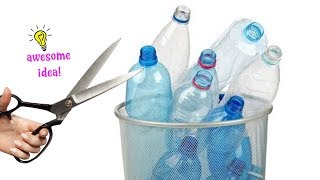 4 INNOVATIVE WAYS TO REUSE/RECYCLE PLASTIC BOTTLES! Best Reuse Ideas