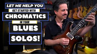 Chromatic Blues Guitar Licks Lesson! - Use Scales You Already Know!
