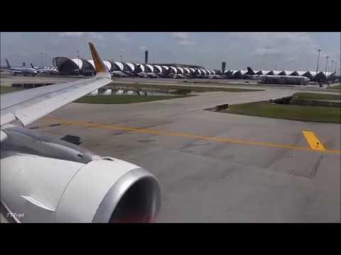 Cebu Pacific  |  Airbus A320  |  5J930  |  Bangkok - Manila  |  Full Flight HD