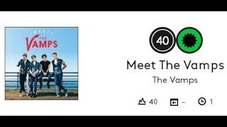 The Vamps Debut Album charts at #40 on the Billboard 200