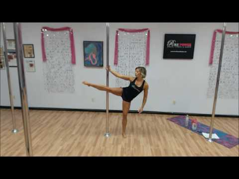 Pole Fitness Workout: Full 1-hour Class, 1