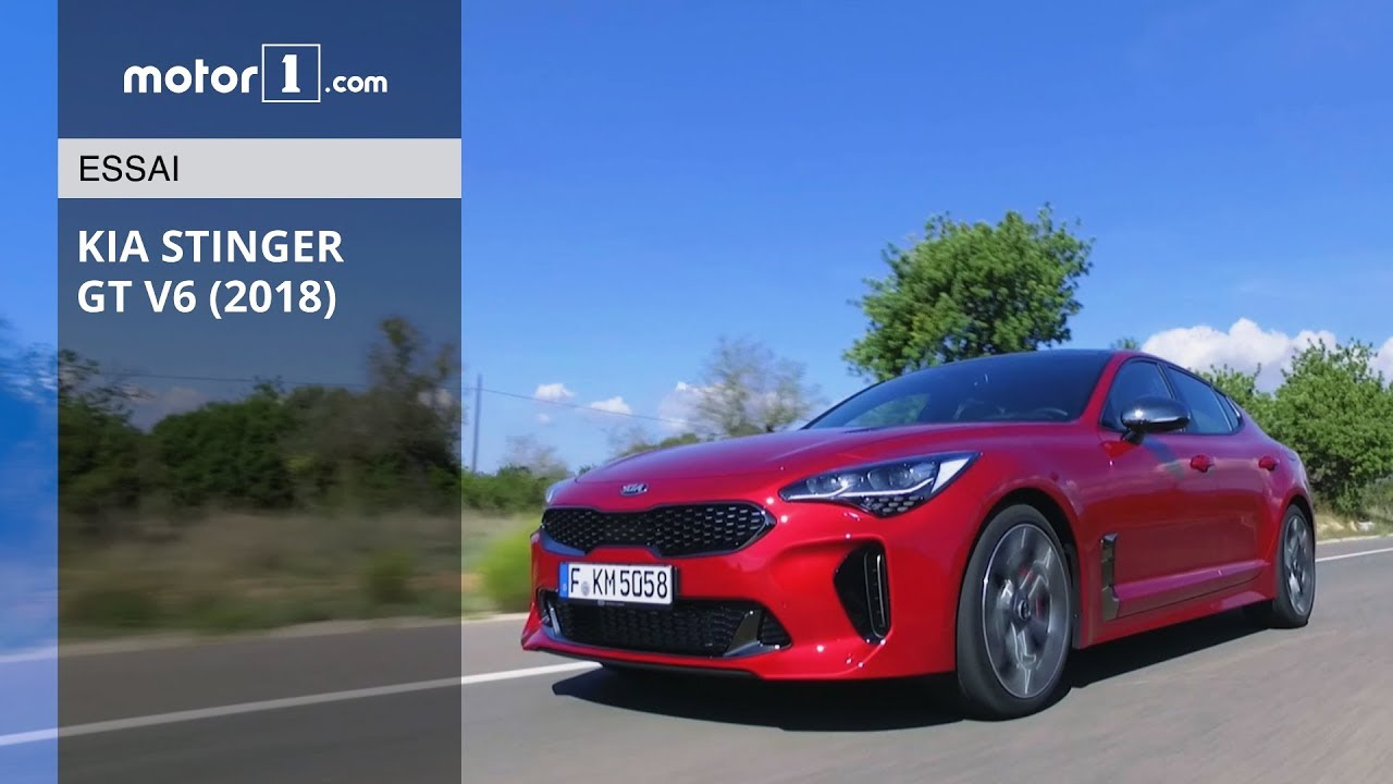 2018 nouvelle kia stinger notre essai en vid o youtube. Black Bedroom Furniture Sets. Home Design Ideas