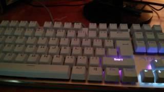My AULA F2012 Mechanical Keyboard