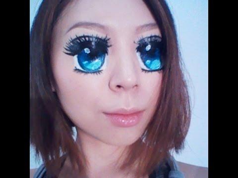 Anime Eyes Female Makeup Saubhaya Makeup