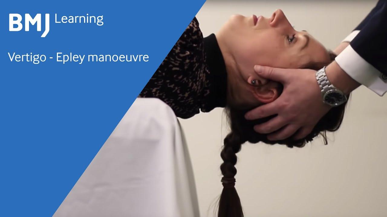 Vertigo Epley Manoeuvre From Bmj Learning Youtube Flexus Gesture Control Sleeve