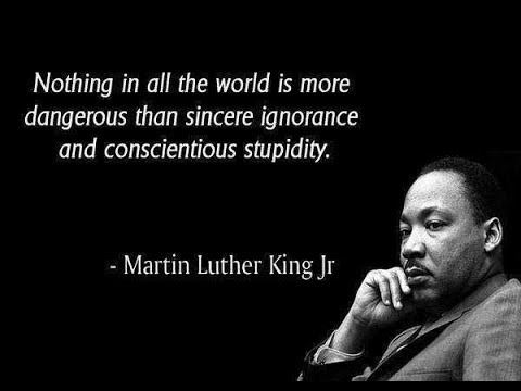 My Response to Pharaoh- MARTIN LUTHER KING DAY(WHY THE CIVIL RIGHTS MOVEMENT WAS A FAILURE)