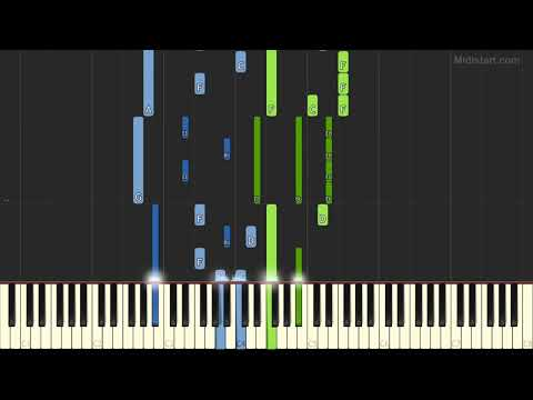 Meat Loaf - For Crying Out Loud (Piano Tutorial) [Synthesia]