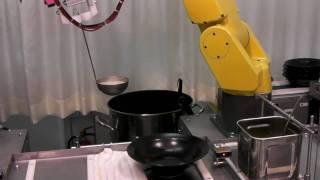 ロボットが作るラーメン屋「ふぁーめん」その1