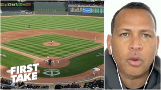 Alex Rodriguez says MLB needs to 'clone' what NBA, NFL have done to grow   First Take YouTube Videos