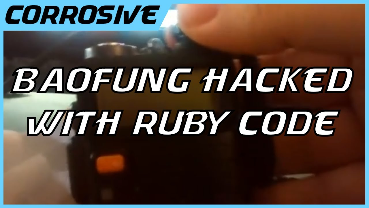 Hacking UV5R Radio using Ruby
