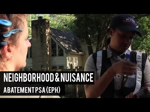 Neighborhood & Nuisance Abatement PSA  (EPH)