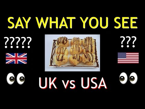 AMERICAN Vs BRITISH English **40 DIFFERENCES**