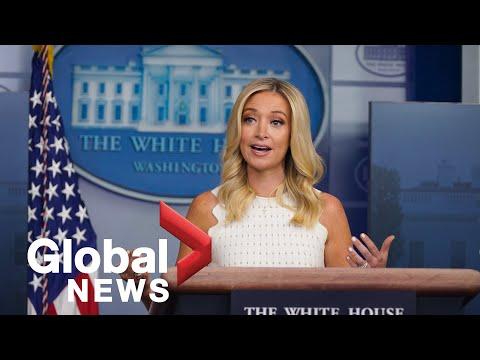 "White House Press Secretary calls Supreme Court decision on Trump taxes ""a win"" for president | FULL"