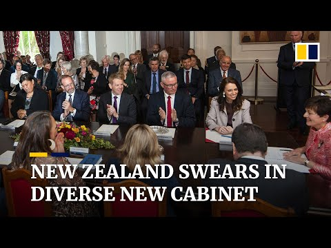 New Zealand swears in new cabinet including Maori and LGBT members
