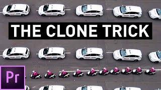 The DOPEST Clone Trick in Premiere Pro