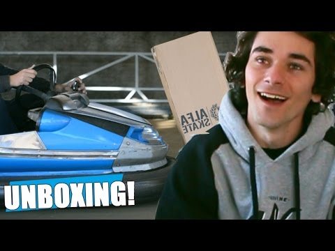ROCKET LEAGUE REAL - UNBOXING ALFA SKATE