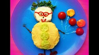 Как украсить блюда для детей  ( 1 часть ) / How to decorate children's meal