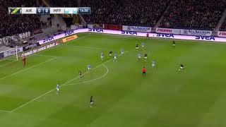 AIK 1 - 1 Malmö FF AIK får en fel dömd frispark och allt slutar i kaos