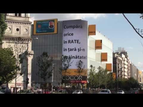 """Branding COCOR Banca Romaneasca - """"Cumpără orice în rate, în ţară şi-n străinătate!"""""""