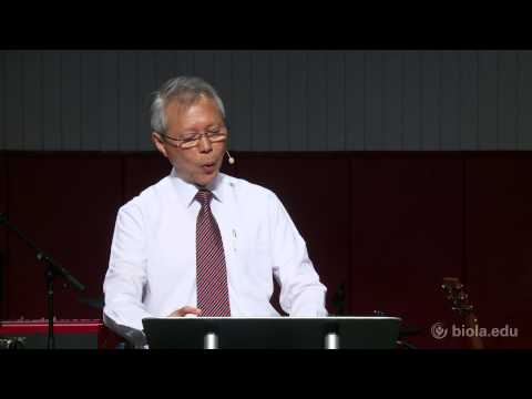 Simon Chan: The Eucharistic Nature Of Christian Living [Biola University Chapel]