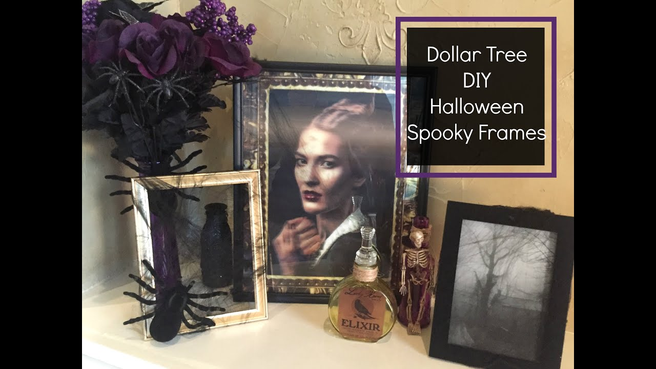 Dollar tree diy halloween spooky picture frames 2016 youtube dollar tree diy halloween spooky picture frames 2016 jeuxipadfo Choice Image