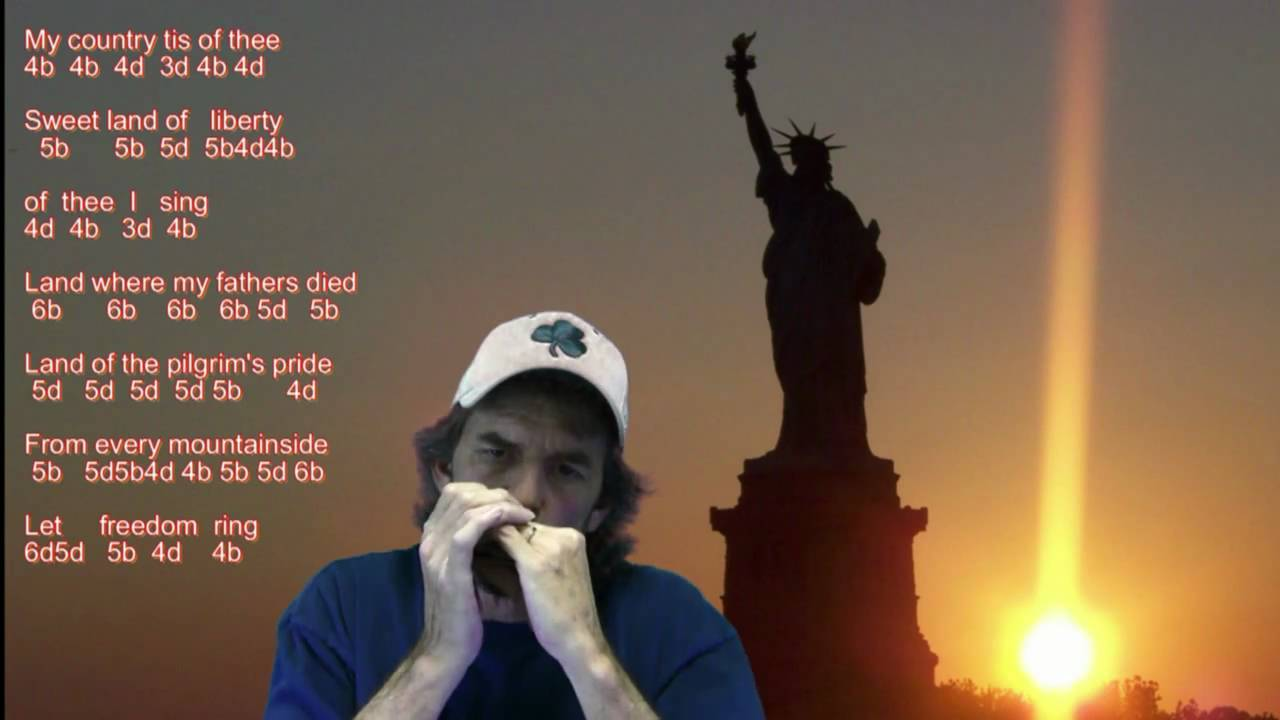 Red River Valley to Stairway to Heaven-Harmonica (with tabs u0026 lyrics) - YouTube