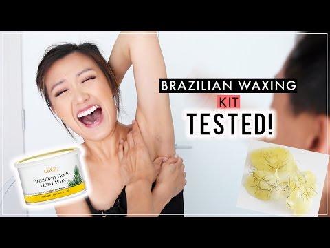 Brazilian Waxing Kit TESTED! | ilikeweylie