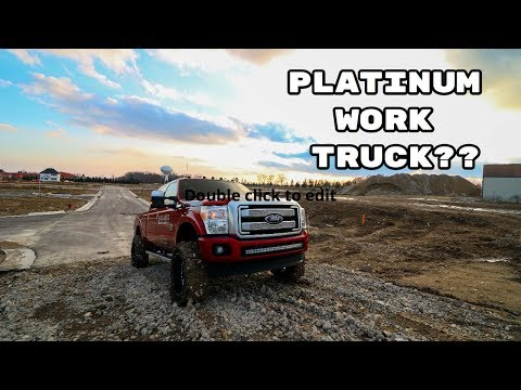 Why I Bought A Platinum Work Truck..