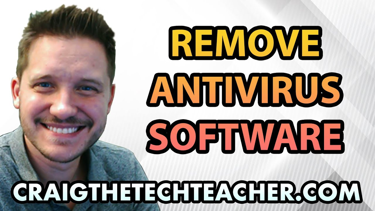 How To Remove Windows XP Antivirus Software