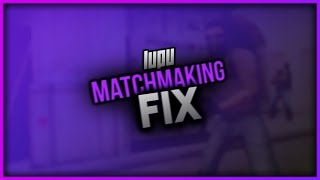 does not have a reliable connection to matchmaking servers cs go fix