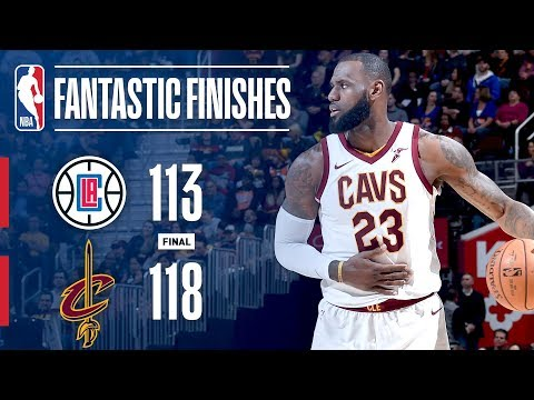 Best of the Cavaliers' Comeback vs. the Clippers | November 17, 2017