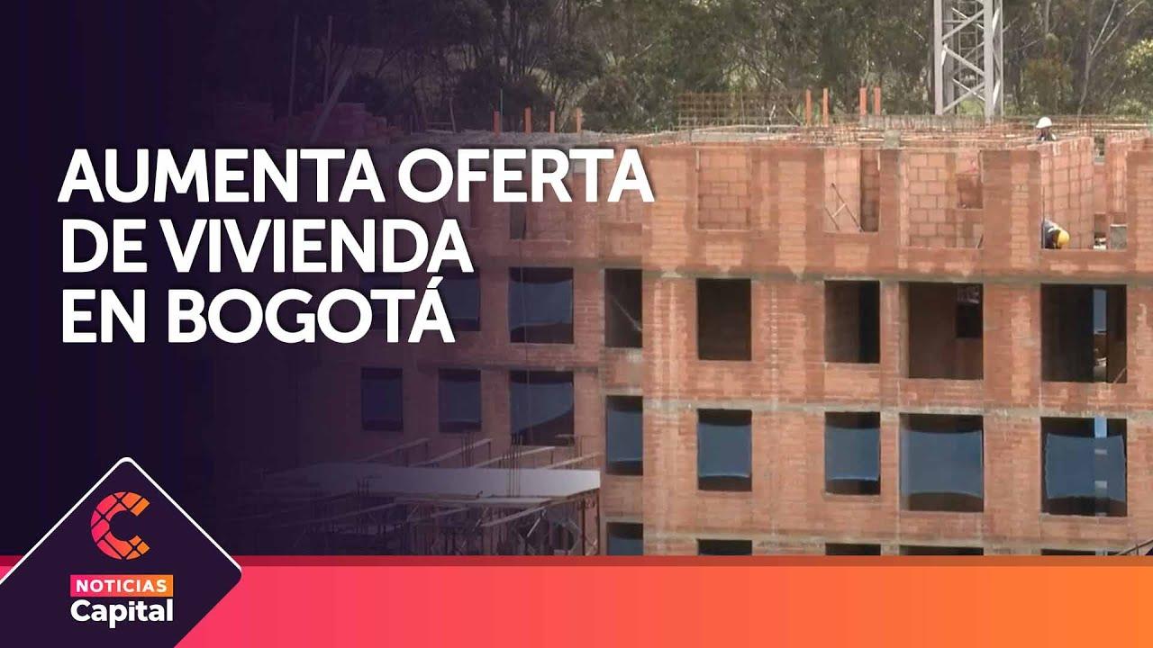 Oferta de vivienda aumenta en Bogotá