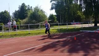Чемпионат России и первенство России по метанию копья спорта ЛИН в Йошкаре-Оле