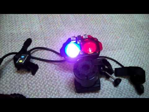 NiteRider Police/EMS Bike Light Demonstration W/ Siren