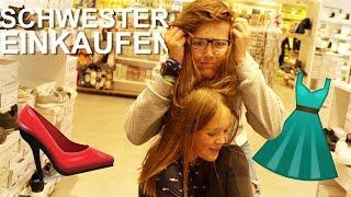 Mit SCHWESTER EINKAUFEN... - Daily Vlog 9