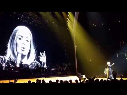 Adele live at Staples Center, LA (part 1)