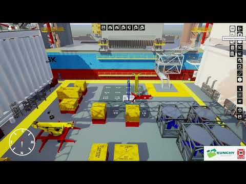 Space Management Simulation of Det Norske Platform [Oil & Gas]
