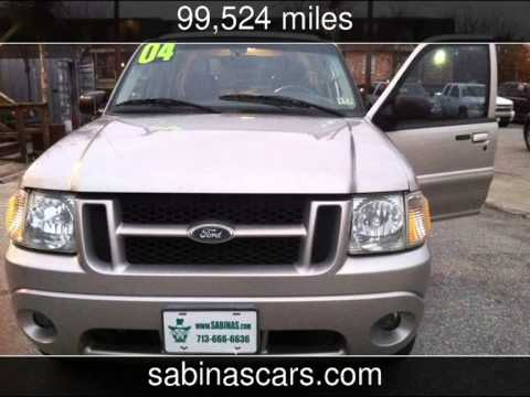 2004 Ford Explorer Sport Trac XLT Used Cars - HoustonTX - 2014-01-30 & 2004 Ford Explorer Sport Trac XLT Used Cars - HoustonTX - 2014-01 ... markmcfarlin.com