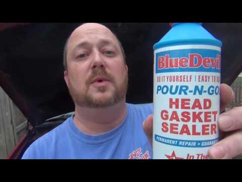 BlueDevil Head Gasket Sealer review.