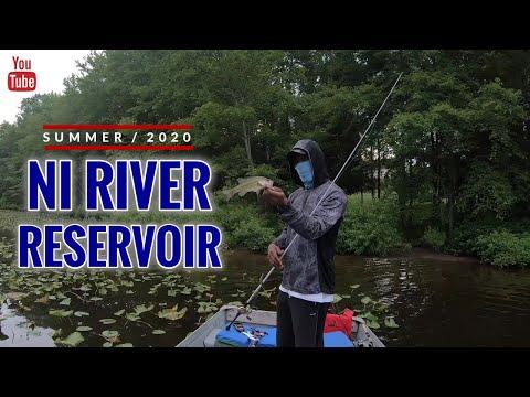 First Time Fishing Ni River Reservoir 2020