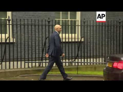 British PM appoints Sajid Javid as new Home Secretary
