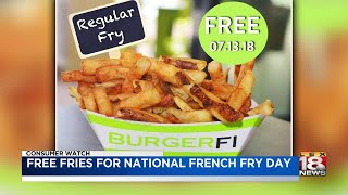 Free Fries For National French Fry Day