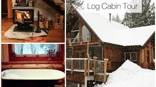 Canadian Log Cabin Tour  Squamish, Bc  Airbnb