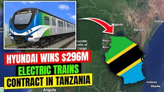 Hyundai wins 296m contract to supply Tanzania39s first electric trains