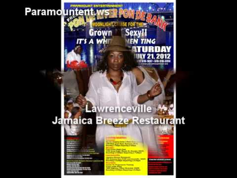Paramountent Cruise - Pon De River Pon De Bank. Its a white linen ting boat cruise to Tennessee